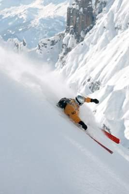 freeriding lech šsterreich 2005 , sci libero, freestyle, arlberg