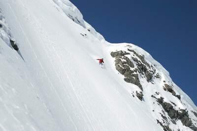 telemarkskiing lech 2005 , arlberg