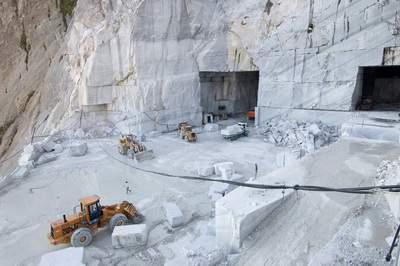 Italia, Toscana, Alpi Apuane (Lucca/Massa Carrara), Cave del Passo della Focolaccia