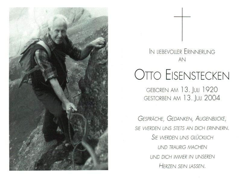 Eisenstecken Otto 1920 Südtirol