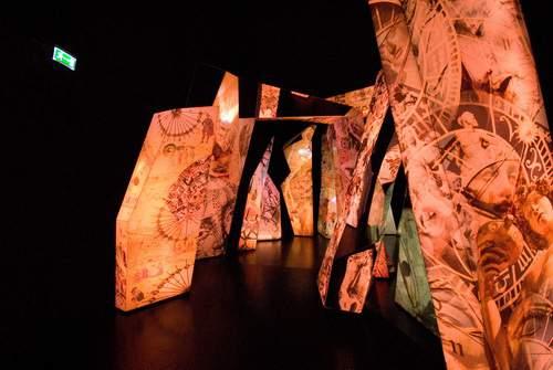 Innsbruck, Swarovski crystal worlds, caleidoscopio del sapere