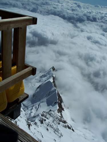 Balcone piu' alto d'Europa = Capanna Margherita Punta Gnifetti 4.559 mt Monte Rosa