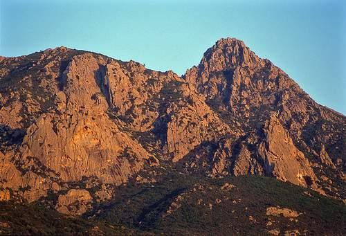 Punta dei Banditi, Monte Casteddacciu, Punta Muzzone (M. Nieddu), da Biasì