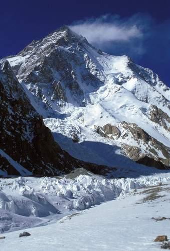 K2, dal Campo Base sul Ghiacciaio Godwin-Austen Glacier