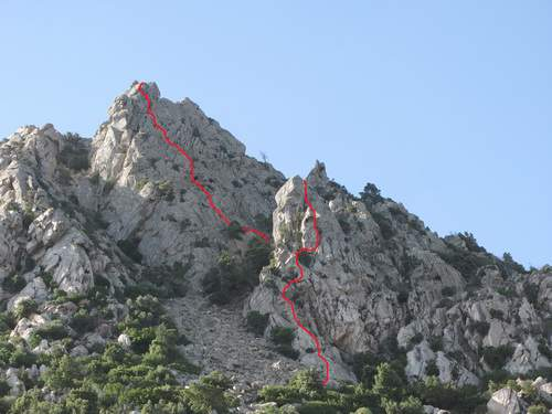 Monte Paligheddu, Padru, Olbia