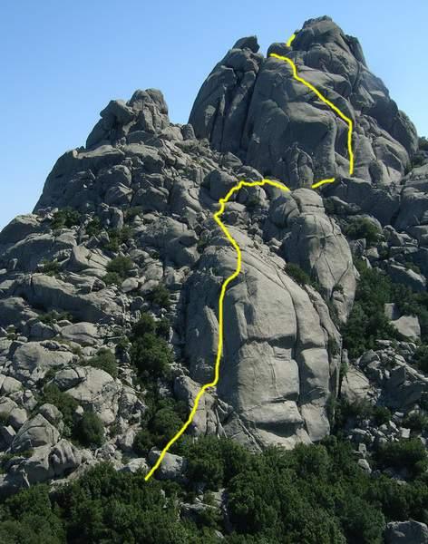 PercorsiInutili5-Sperone Sud Ovest - -Monte Biancu