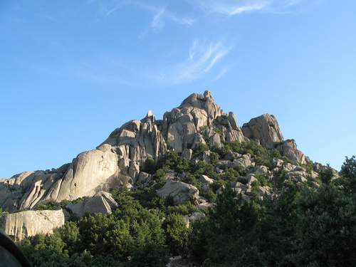 Sardegna, Limbara, Monte Biancu da sud