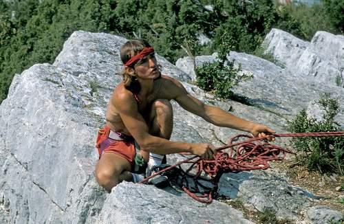 Verdon, 1983. Patrick Edlinger