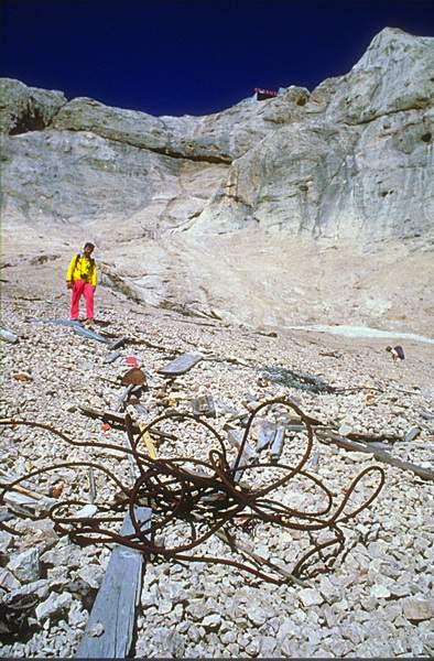 Marmolada, vallone d'Antermoia, 1988