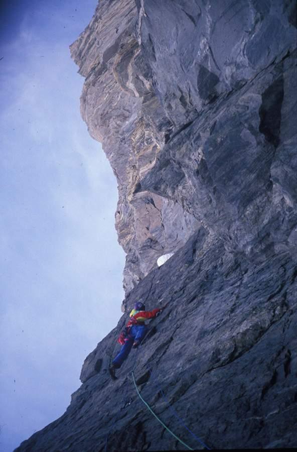 Cervino, Cesare Ravaschietto su Free Tibet, prima ascensione