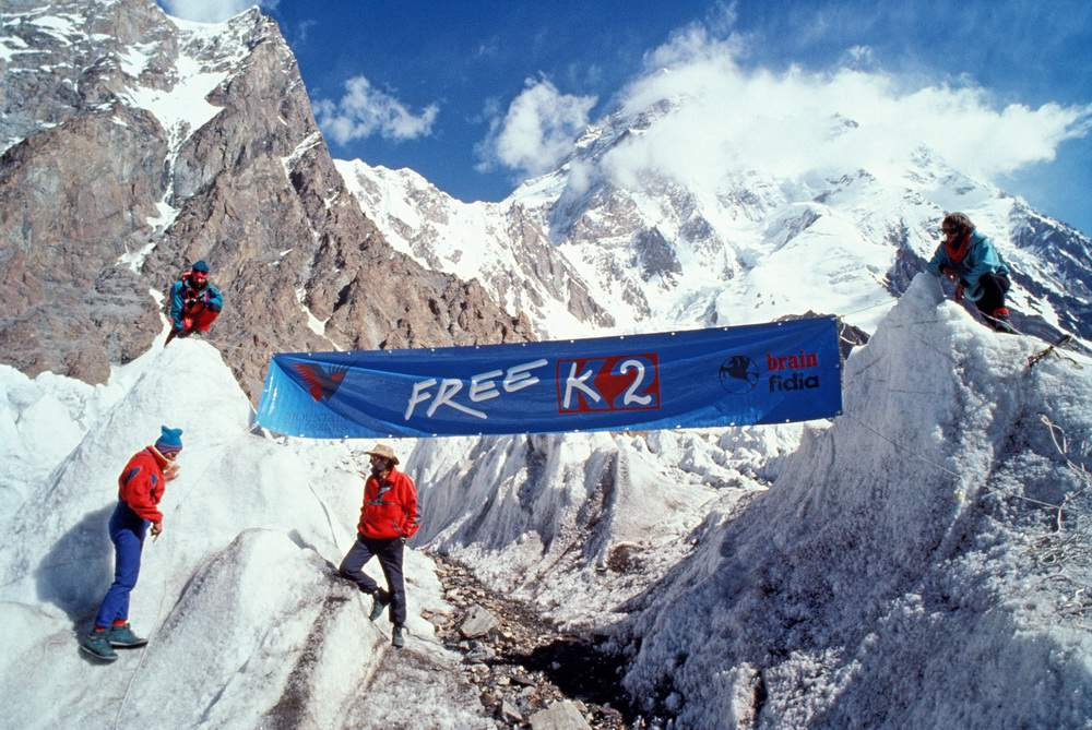 Free K2, 1990, bonifica