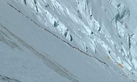 Everest climbers 2012