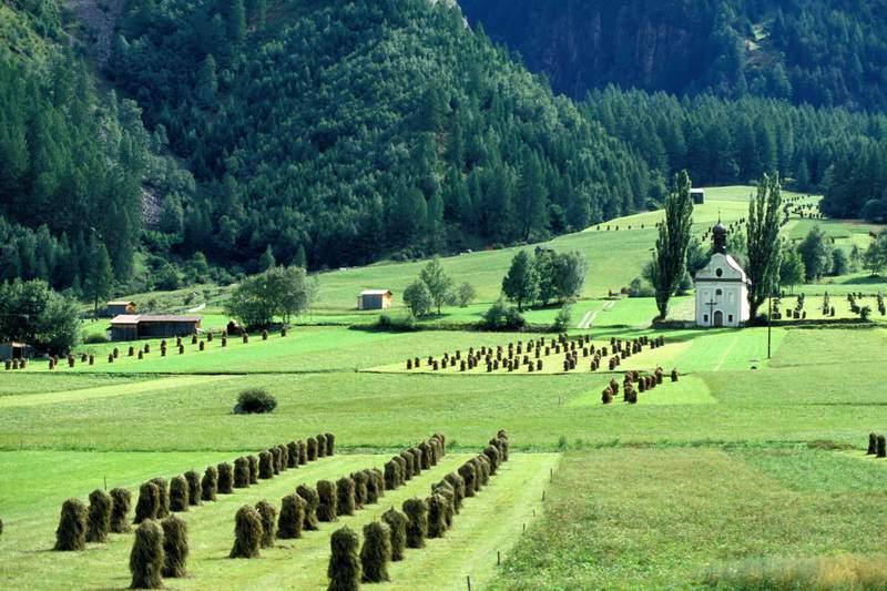 Tirolo, Oetztal, chiesetta di Maria Schnee