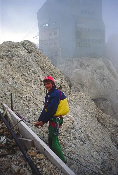 Maurizio Giordani, Via dell'Ideale, Marmolada, Dolomiti Occidentali, 23.07.1988