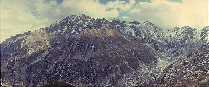 Massiccio dell'Argentera, versante ovest