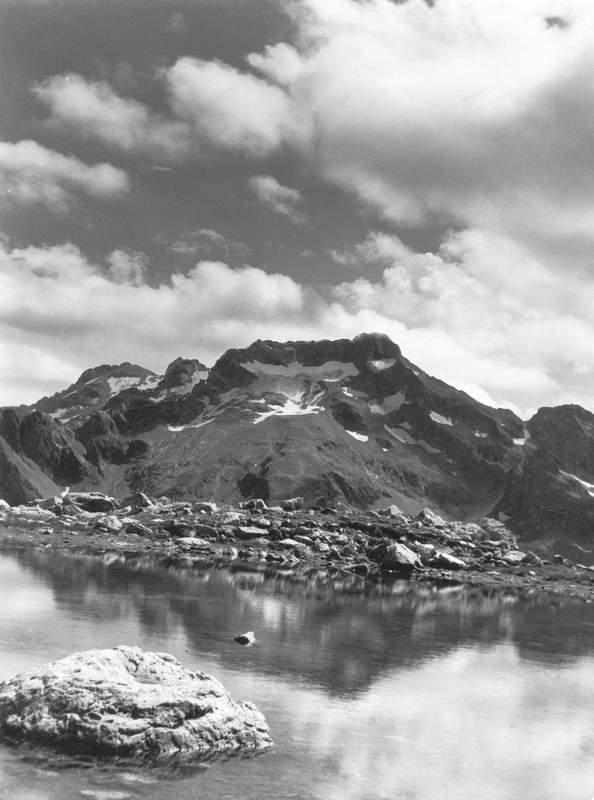 Monte Gelas dal Colle delle Fenestrelle (Alpi Marittime)(Foto: C. Prandoni)
