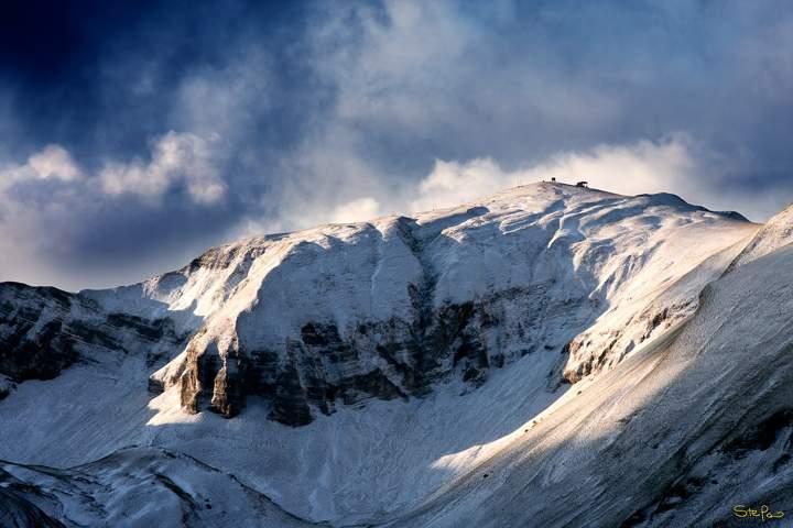 NotteSibillini2-Photonica3 - I Monti Sibillini - Luci e Ombre - Monte Bove Sud