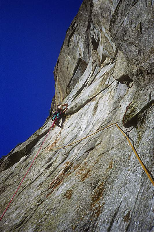 Val Masino, Liss dal Pesgunfi, prima ascensione