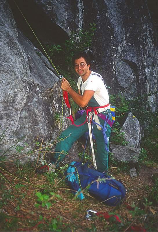 Liss dal Pesgunfi, G. Miotti nella prima ascensione