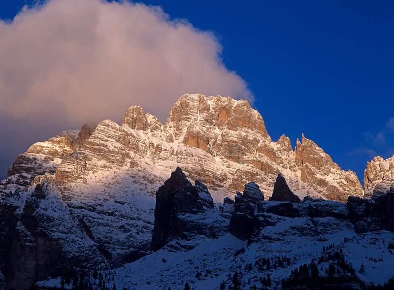Monte Cristallo e Popena Basso -Dolomiti - Val d'Ansiei