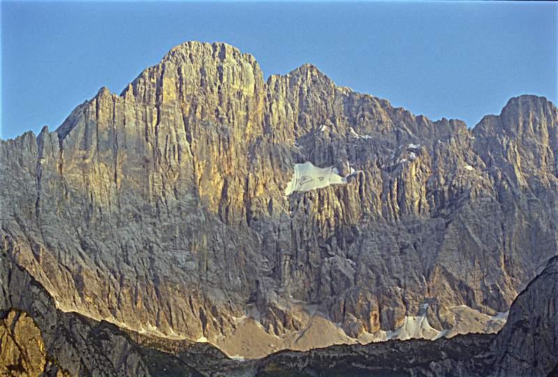 La parete nord-ovest del Civetta. Dolomiti Orientali