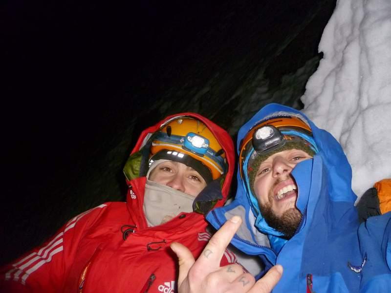 via Welzenbach, Grand Charmoz, con David