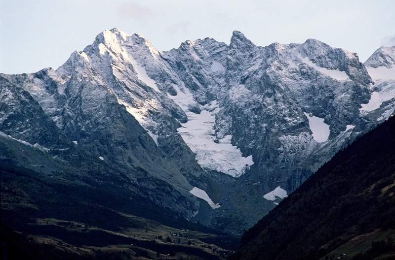 Il Gruppo del Pizzo di Coca da Ponte Valtellina, Alpi Orobie valtellinesi
