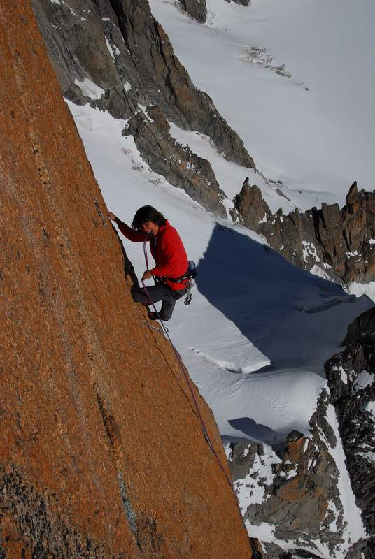 ClimbingGirls-06-Catherine Destivelle Grand Capucin 3858 m