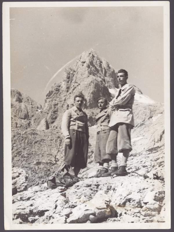 1941 - Emilio Galli, Ercole Ruchin Esposito, Felice Mauri. . Archivio Emilio Galli