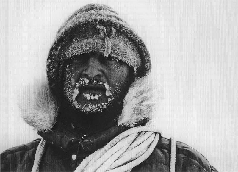 Ignazio Piussi in Antartide, dicembre 1973-gennaio 1974