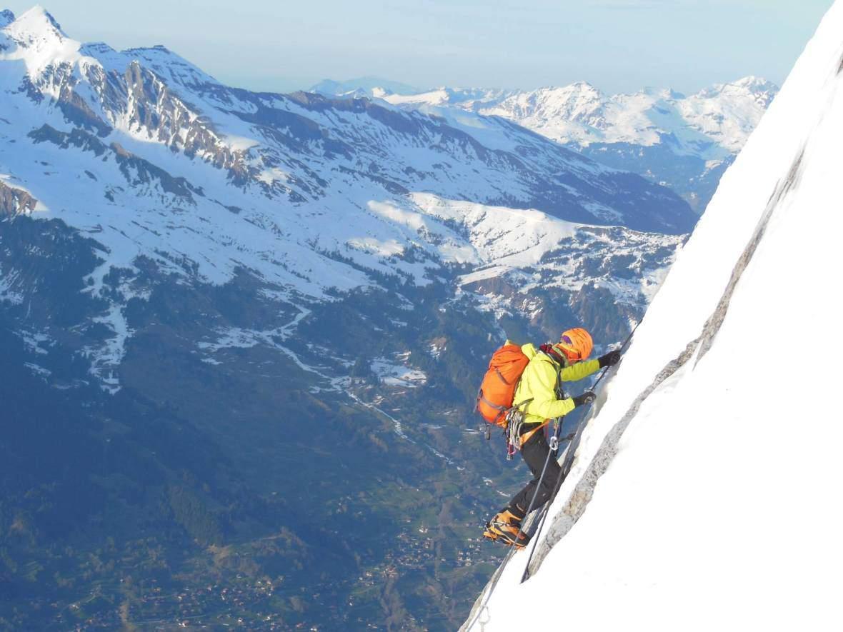 Climbing girls 02 - G.Venturelli,Eiger,apr2015