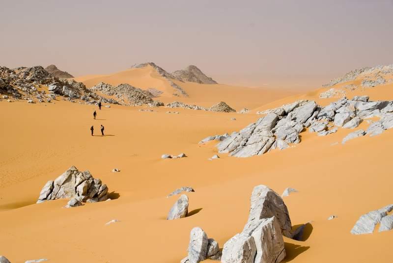 Izouzaouène (Montagne Blu), traversata , Niger, Deserto del Teneré