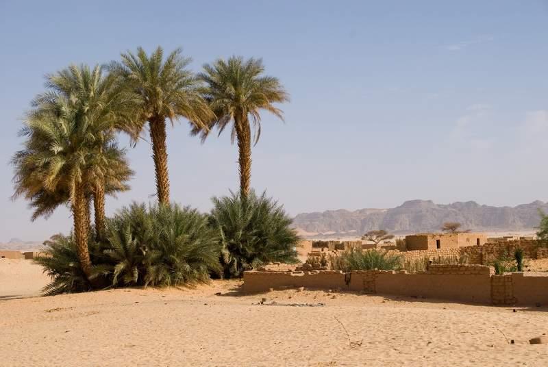 Chirfa (Niger) , Niger, Deserto del Teneré
