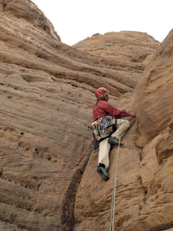 Djado (Niger), Torre di Orida, Teneré Crack, 6a lunghezza