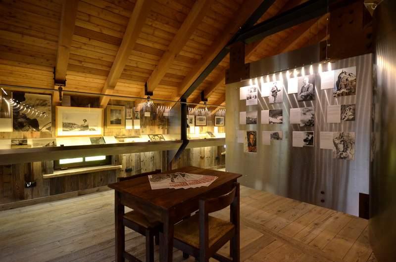 """Mostra """"Creste e pareti del Cervino, 150 anni di imprese"""", Cervinia, Museo delle Guide"""