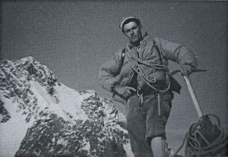 "Giuseppe ""Dett"" Alippi. Da Due cordate per una parete, 362"