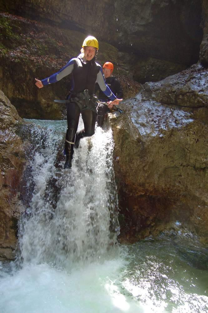 Canyoning, Daxa Bach, Kaisergebirge