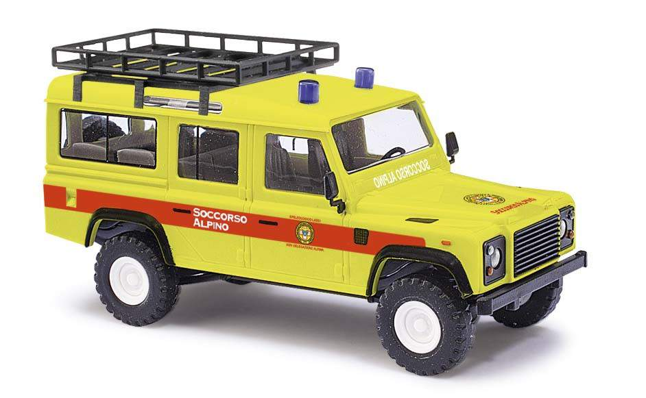 TabellaCostiCNSAS-busch-ho-land-rover-soccorso-alpino-codice-50385-modellismo-ferroviario
