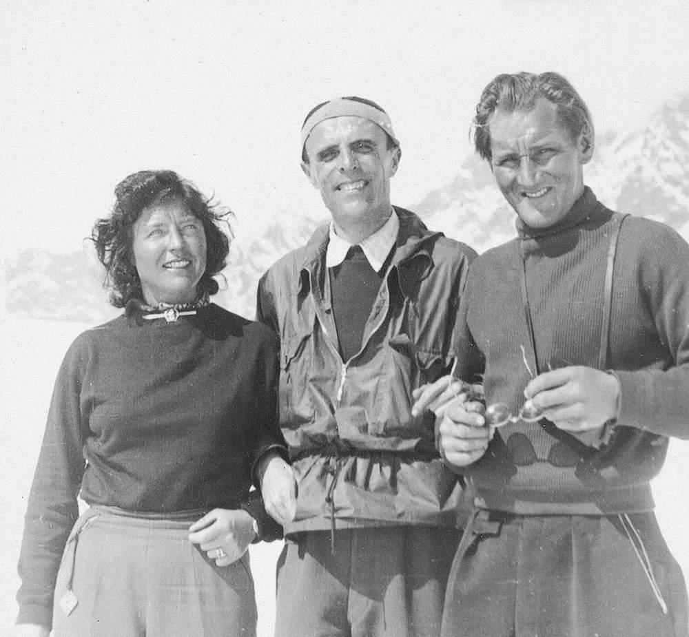 Casara tra Paula Wiesinger e Hans Steger. Foto: Walter Cavallini.