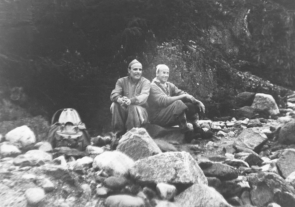 Casara (a sinistra) con Spiro Dalla Porta Xidias.