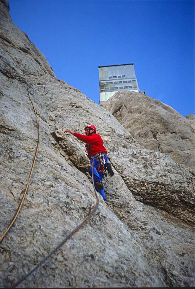 Giusto Callegari, Via dell'Ideale, Marmolada, Dolomiti Occidentali, 23.07.1988
