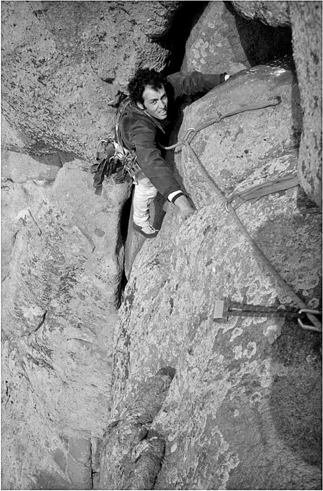 R. Bonelli su1a L via Piccioni alla Placca del Frate (Sa Tellaia de su Para), Garibaldi, 05.1981