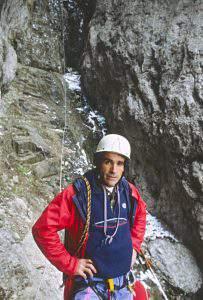 Alessandro Gogna in scalata