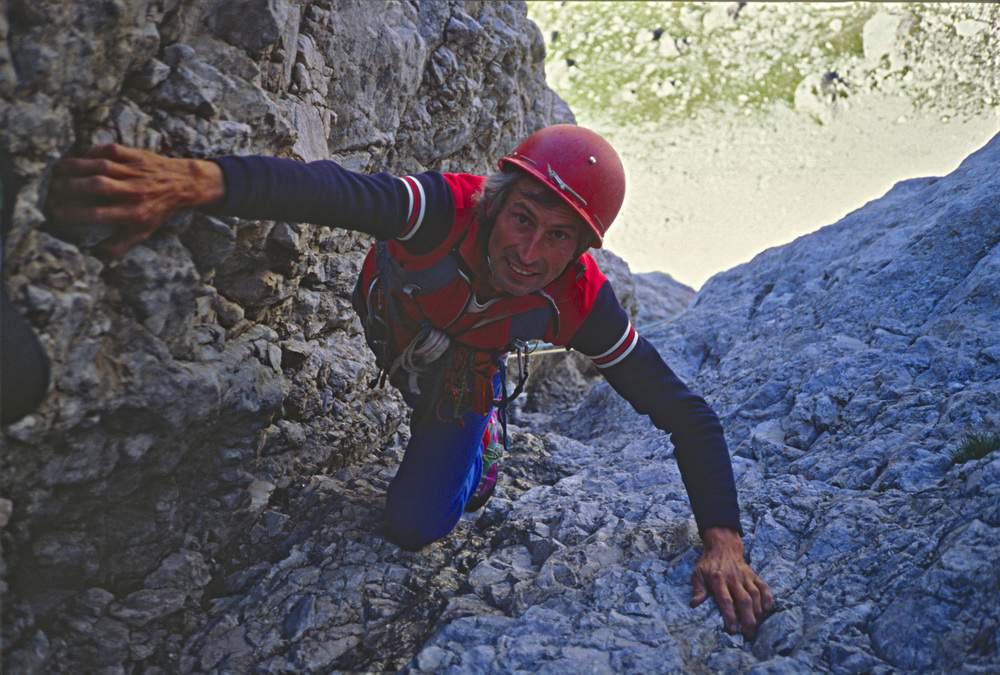 Paolo Leoni, Via dell'Ideale, Marmolada, Dolomiti Occidentali , 23.07.1988