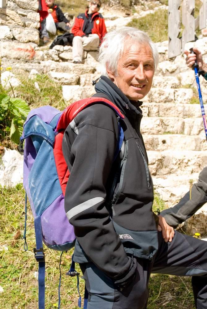 rifugio Tissi, Paolo Leoni