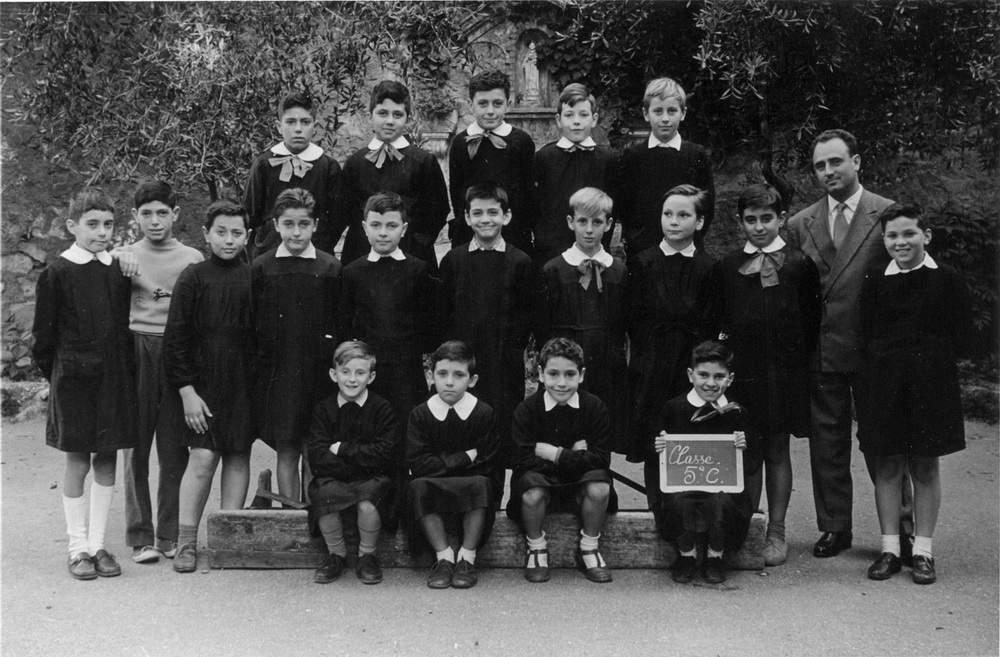 A. Gogna, 5aC, scuola elementare Brignole Sale, Genova