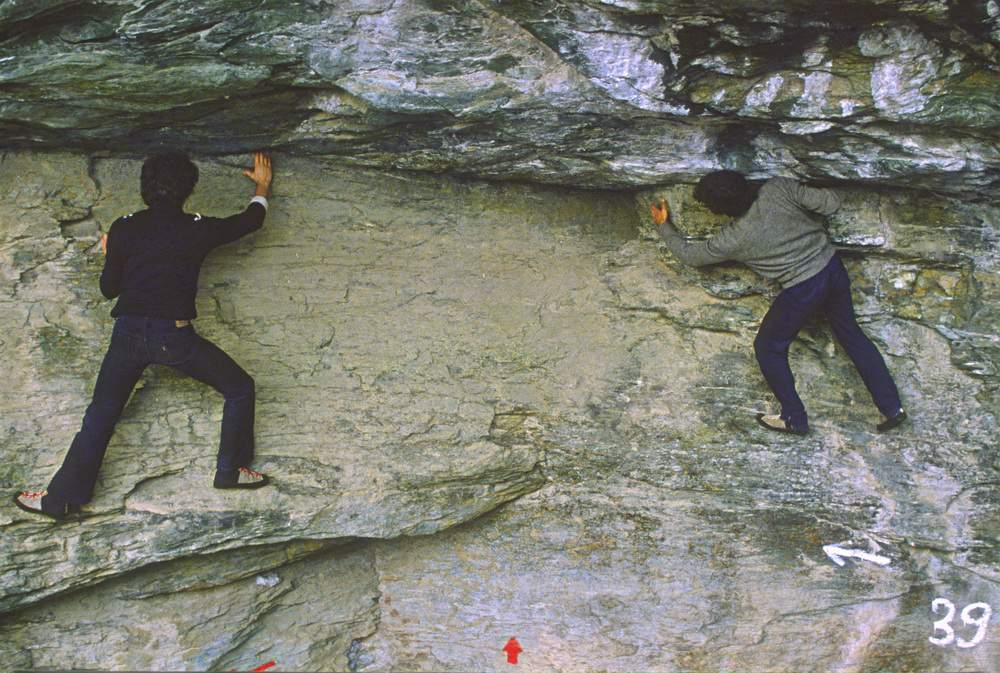 Courbassere (Valle di Lanzo), 2.3.1980, G.P.Motti e Mario Pelizzaro