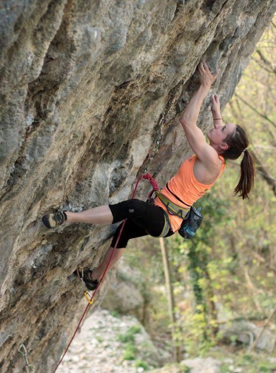 ClimbingGirls-24-Petra Růžičková, fotoLacušák Šaolin