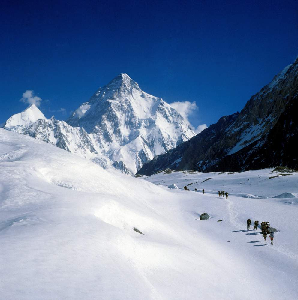 K2 spedizione 1979, da Concordia verso il K2