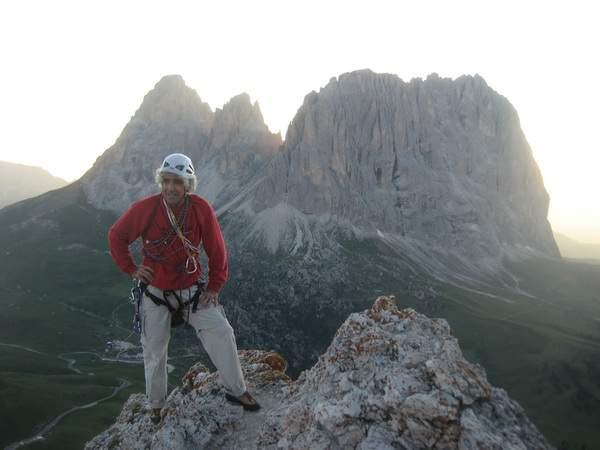 A. Gogna, Seconda Torre di Sella, via Bataian, quarta ascensione, in vetta